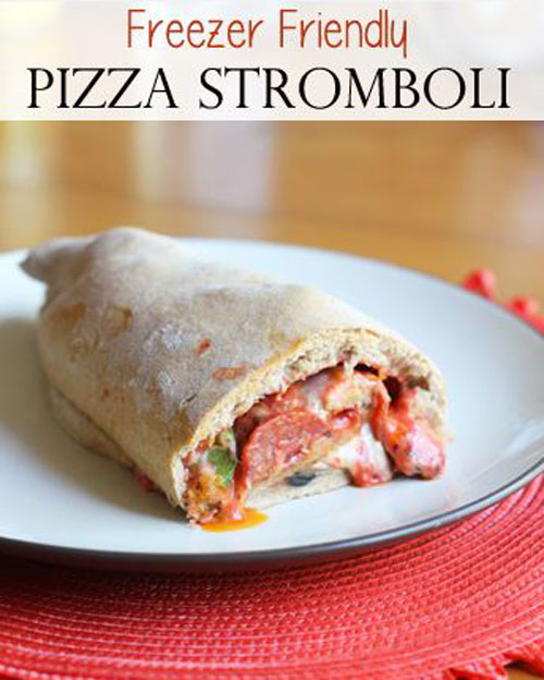 How to Freeze Stromboli for long lasting