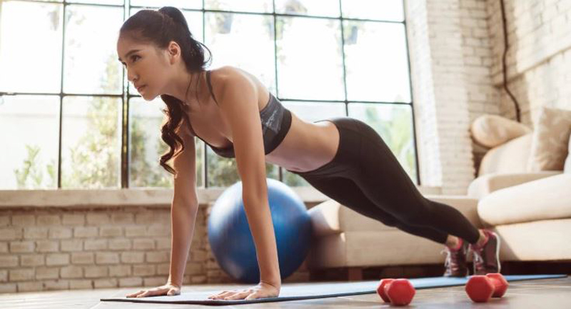 pushups, How to Get rid of armpit fat