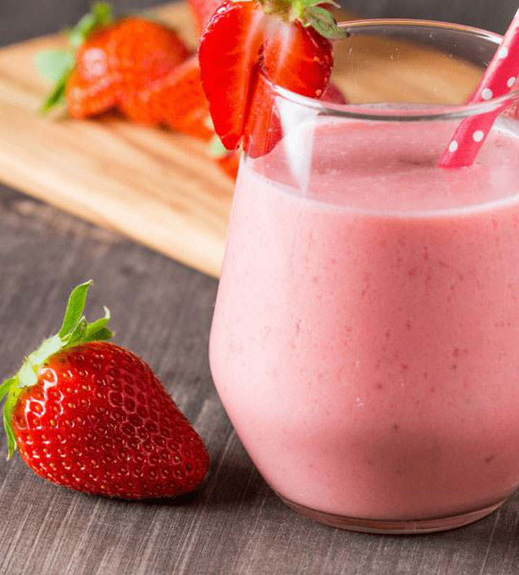 How to Make a Smoothie King Angel Food Smoothie