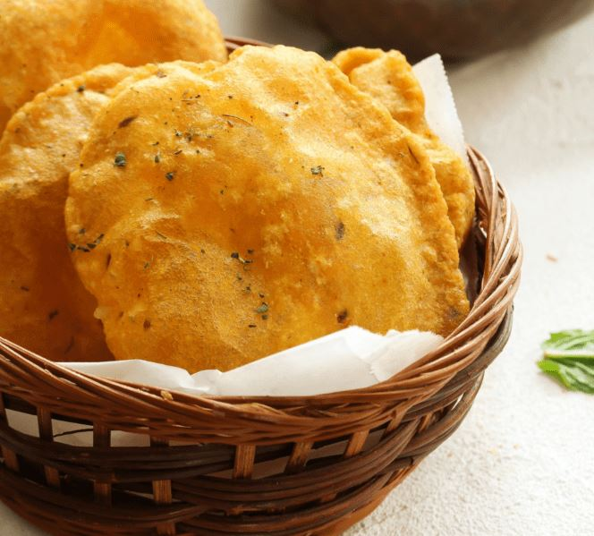 Puri best indian side dish