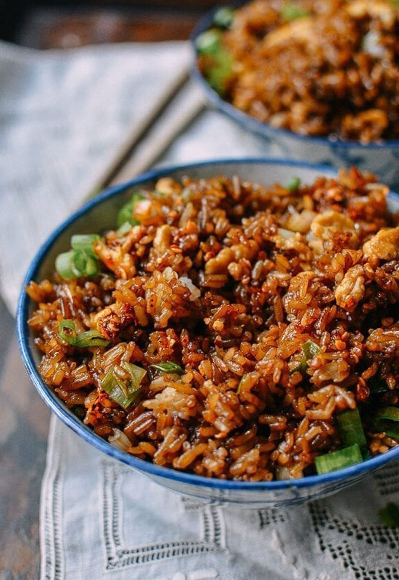 Supreme Soy Sauce Fried Rice recipe
