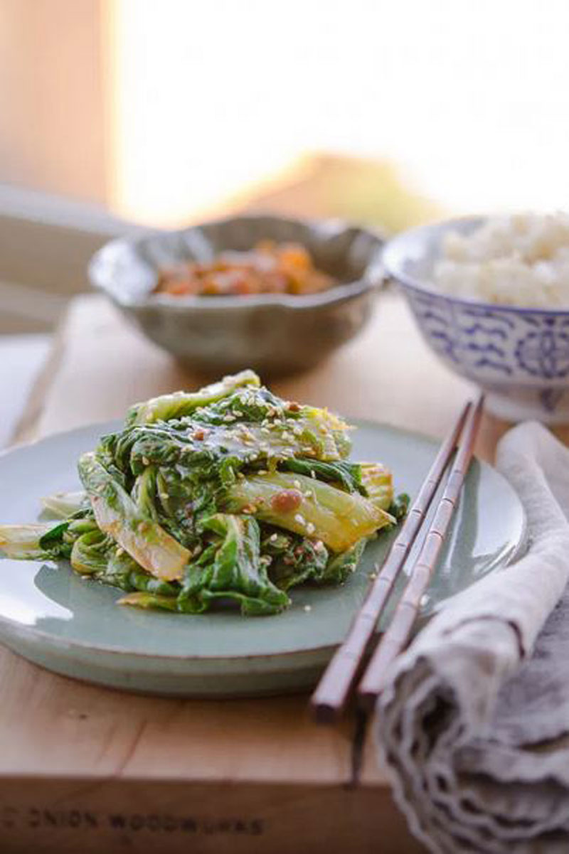 Cabbage with Soybean Paste, Korean Side Dish